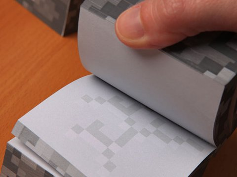 Minecraft Sticky Notecube 02 ゲーム その他・趣味 ゲーム関連グッズ ACCESSORIES