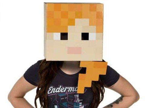Minecraft Alex Head 02 ゲーム その他・趣味 ゲーム関連グッズ ACCESSORIES
