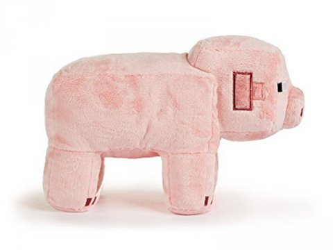Minecraft 12 Pig Plush With Hang Tag 02 ゲーム その他・趣味 ゲーム関連グッズ ACCESSORIES