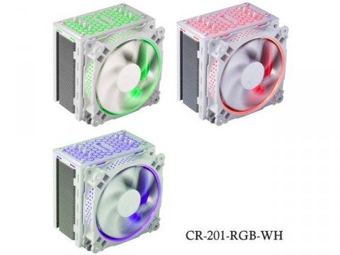 JONSBO CR-201-RGB-WH 03 PCパーツ クーラー | FAN | 冷却関連 CPUクーラー