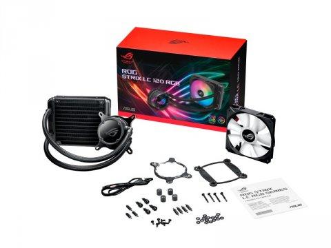 ASUS ROG STRIX LC 120 RGB 03 PCパーツ クーラー | FAN | 冷却関連 CPUクーラー