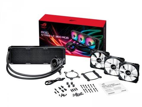 ASUS ROG STRIX LC 360 RGB 03 PCパーツ クーラー | FAN | 冷却関連 CPUクーラー