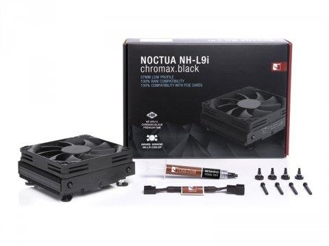 Noctua NH-L9i chromax.black 03 PCパーツ クーラー | FAN | 冷却関連 CPUクーラー