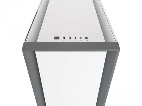 Corsair CC-9011209-WW 5000D TG WHT 03 PCパーツ PCケース | 電源ユニット PCケース