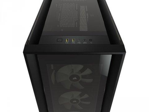 Corsair CC-9011212-WW 5000X RGB TG BLK 03 PCパーツ PCケース   電源ユニット PCケース