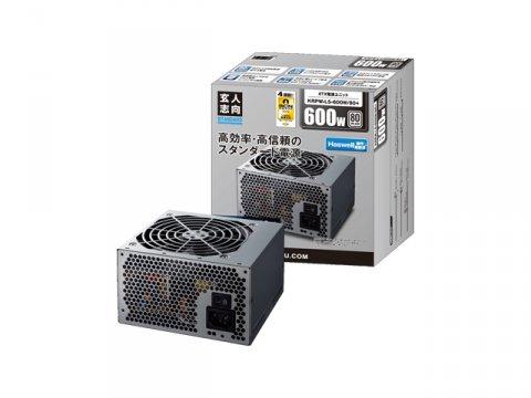 玄人志向 KRPW-L5-600W/80+ 03 PCパーツ PCケース | 電源ユニット 電源ユニット