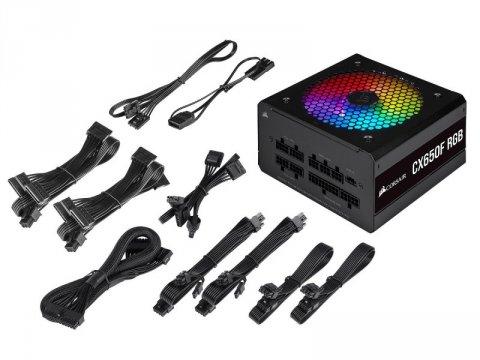 Corsair CP-9020217-JP CX650F RGB BLK 03 PCパーツ PCケース | 電源ユニット 電源ユニット