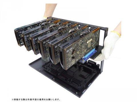 長尾製作所 N-F8GPU-MINING 03 PCパーツ PCケース | 電源ユニット PCケース
