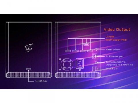 GIGABYTE GV-N3080IXEB-10GD R2.0 03 PCパーツ グラフィック・ビデオカード Thunderbolt 3