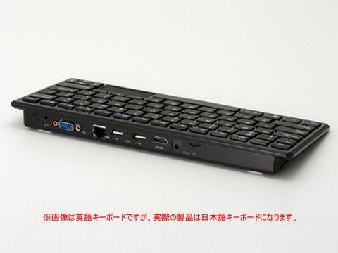TEKWIND WP004-BK 03 PCパーツ ベアボーン キーボードPC