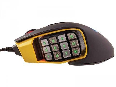 CH-9304011-AP SCIMITAR PRO RGB Yellow 03 ゲーム ゲームデバイス マウス