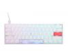 One 2 Mini RGB Pure White Cherry Silentr 03 PCパーツ 周辺機器 モバイル ゲーム 入力デバイス キーボード