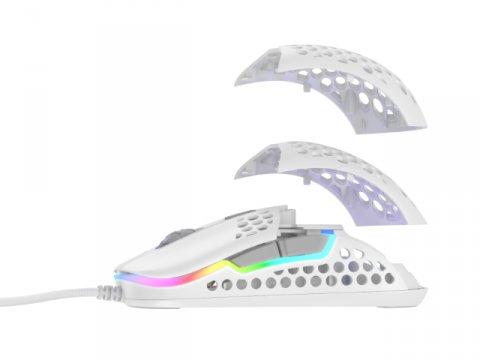 701302 M42 RGB ホワイト ゲーミングマウス 03 ゲーム ゲームデバイス マウス
