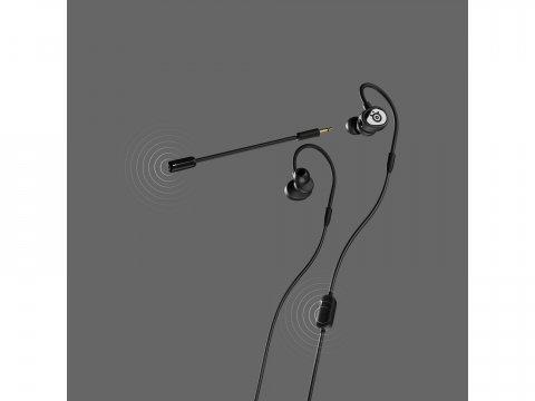 SteelSeries Tusq /61650 03 周辺機器 モバイル ゲーム PCサウンド   オーディオ関連 ヘッドセット