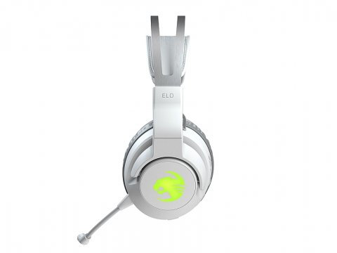 ELO 7.1 AIR WH /ROC-14-142-02 03 ゲーム ゲームデバイス ヘッドセット