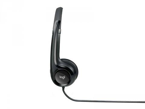Logicool USB Headset H390 H390R 03 周辺機器 PCサウンド | オーディオ関連 ヘッドセット
