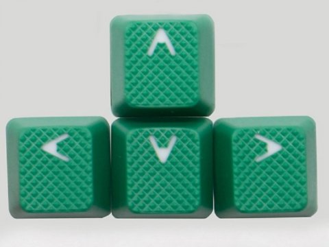 th-rubber-keycaps-green-8 03 ゲーム ゲームデバイス キーボード