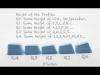th-rubber-keycaps-blank-neon-blue-r1 03 PCパーツ 周辺機器 モバイル ゲーム 入力デバイス キーボード