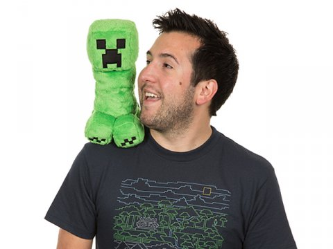 Minecraft 10.5 Creeper Plush W Hang Tag 03 ゲーム その他・趣味 ゲーム関連グッズ ACCESSORIES