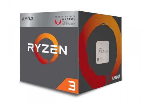 Ryzen 3 2200G with Radeon Vega 8 Graphics BOX
