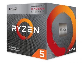 AMD Ryzen 5 3400G YD3400C5FHBOX 01 PCパーツ CPU(Intel AMD) AMDプロセッサ