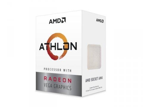 Athlon 3000G Processor with Radeon Graphics