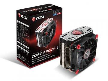 MSI Core Frozr L 01 PCパーツ クーラー   FAN   冷却関連 CPUクーラー