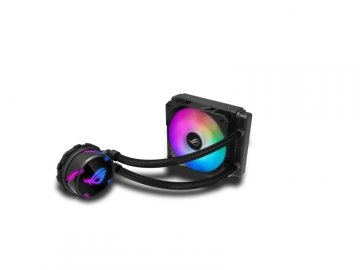 ASUS ROG STRIX LC 120 RGB 01 PCパーツ クーラー | FAN | 冷却関連 CPUクーラー