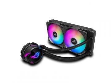 ASUS ROG STRIX LC 240 RGB 01 PCパーツ クーラー | FAN | 冷却関連 CPUクーラー