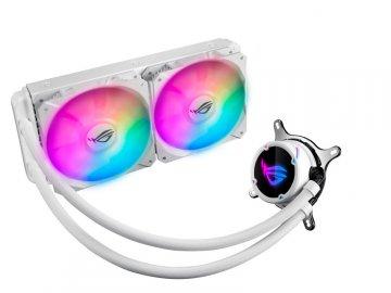 ASUS ROG STRIX LC 240 RGB WHITE EDITION 01 PCパーツ クーラー | FAN | 冷却関連 CPUクーラー