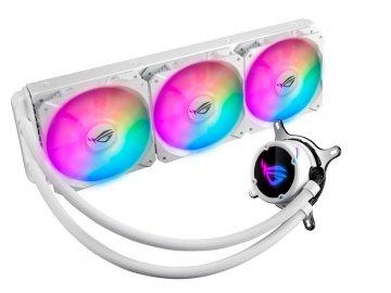 ASUS ROG STRIX LC 360 RGB WHITE EDITION 01 PCパーツ クーラー | FAN | 冷却関連 CPUクーラー