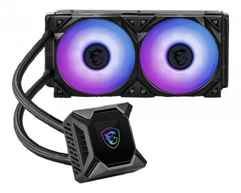 MPG Core Liquid K240 01 PCパーツ クーラー | FAN | 冷却関連 CPUクーラー