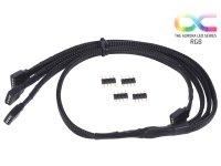 Alphacool 18539 y-cable RGB 3x4pol 60cm
