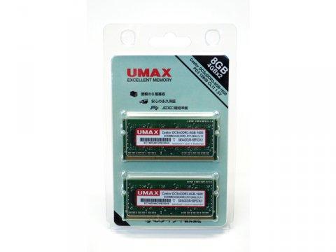 U-MAX S.O.DDR3-1600 DCSoDDR3-8GB-1600