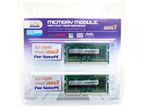 DDR3 S.O.DDR3-1333 4GBx2 W3N1333PS-4G