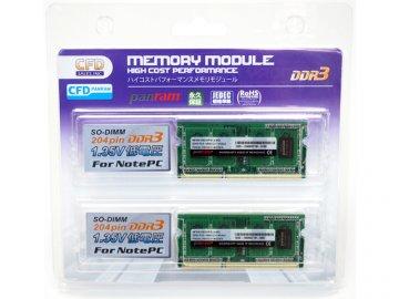 DDR3 S.O.DDR3-1600 4GBx2 W3N1600PS-L4G 01 PCパーツ PCメモリー ノート用