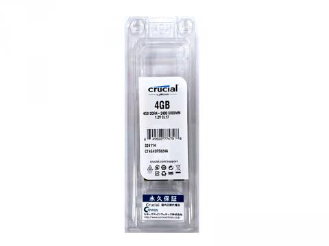 Crucial CT4G4SFS824A 2400 SO 4GB
