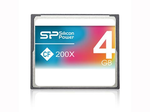 CompactFlash 4GB 200x SP004GBCFC200V10