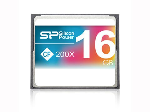 CompactFlash 16GB 200x SP016GBCFC200V10
