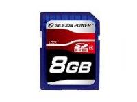 SDHC Card 8GB SP008GBSDH004V10 Class4