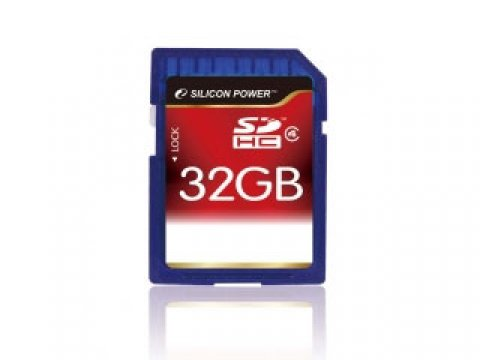 SDHC Card 32GB SP032GBSDH004V10 Class4