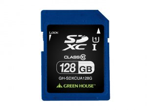 GreenHouse GH-SDXCUA128G SDXC Card 128GB