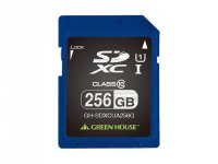 GreenHouse SDXC Card 256GB GH-SDXCUA256G