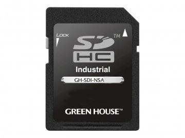GreenHouse GH-SDI-NSA4G 01 モバイル フラッシュメモリー SDカード SDHCカード
