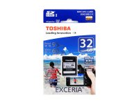 Toshiba SDHC Card 32GB SD-H032GR7VW060A