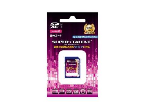 SuperTalent SDXC Card 256GB ST56SU1P