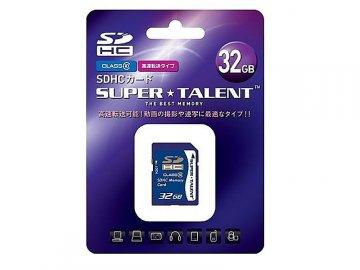 SuperTalent SDHC Card 32GB ST32SDC10 01 モバイル フラッシュメモリー SDカード|SDHCカード