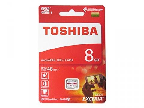 Toshiba Micro SDHC 8GB THN-M301R0080A4