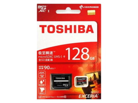 Toshiba MicroSDXC 128GB THN-M302R1280A2