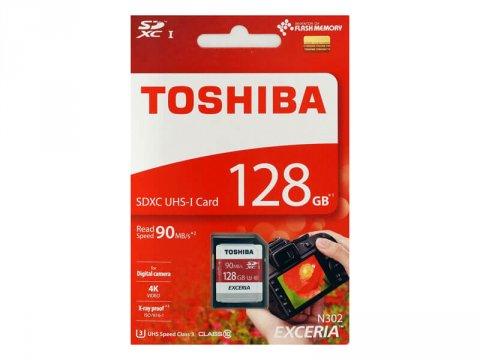 Toshiba SDHC Card 128GB THN-N302R1280